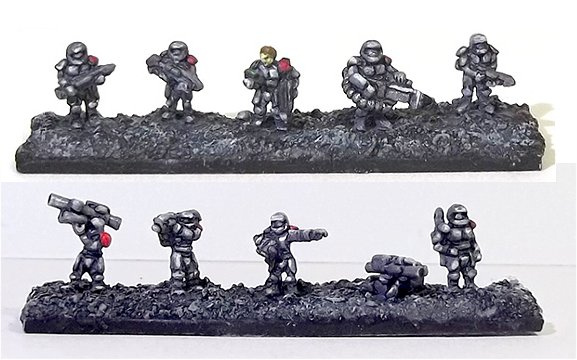Solar Empire Marines 6mm-troopers
